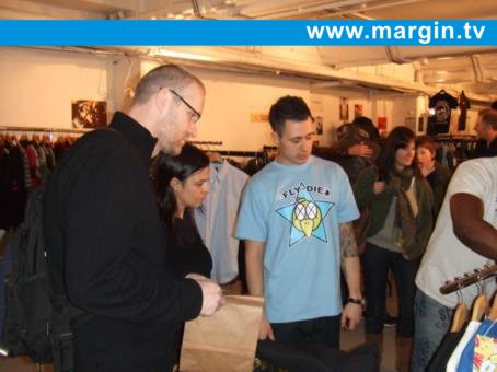 Justin Hustlin at Margin London February 2008