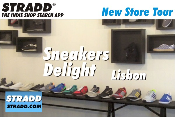 STRADD Store Tour Sneakers Delight Lisbon Portugal
