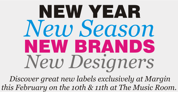 New Year New Season New Brands New Designers
