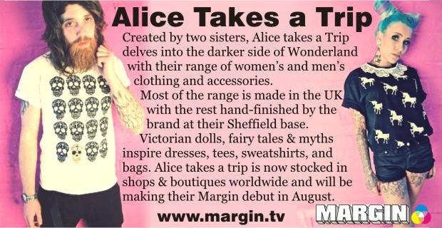 Alice takes a trip at Margin London