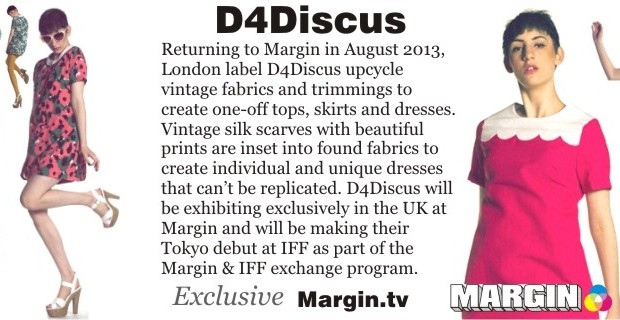 D4Discus at Margin London