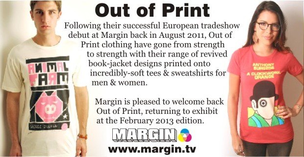 Out of Print at Margin London February 2013
